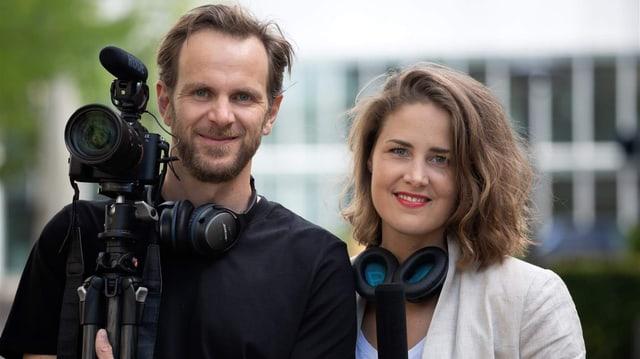 Katarina Hagstedt und Martin Inderbitzin.