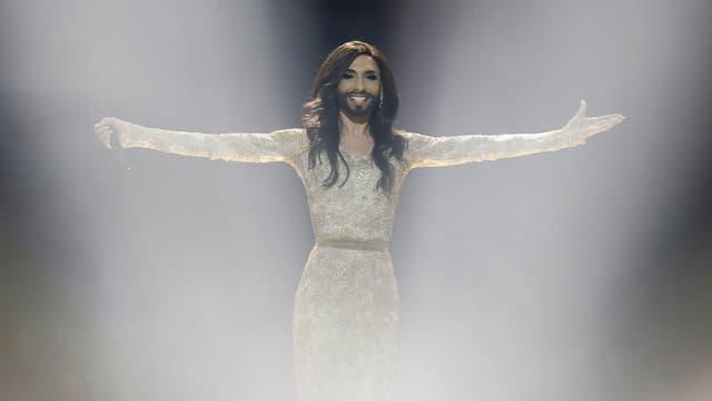 Sie polarisiert, hat viele Kritiker, aber noch mehr Fans: Conchita Wurst gewinnt den Eurovision Song Contest 2014