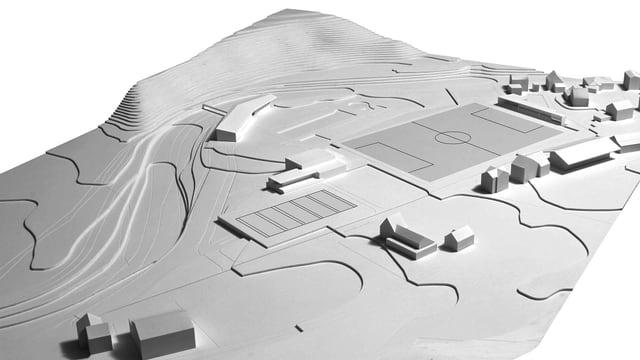 Visualisierung Sportstätte Schaies