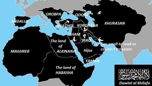 Karte Kalifat.