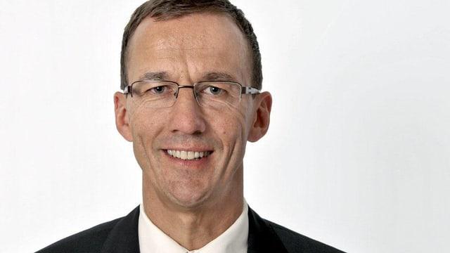 Der Gemeindepräsident von Rothenburg Bernhard Büchler.