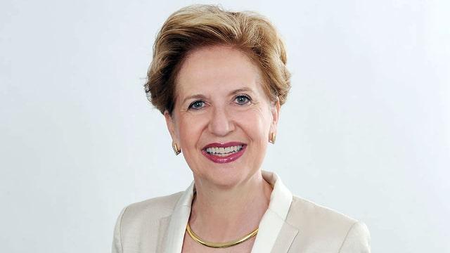 Portrait der Uni-Rektorin, Andrea Schenker-Wicki