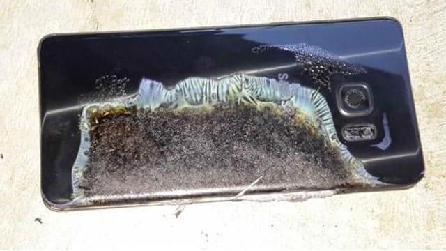 Das Samsung Galaxy Note 7 kann explodieren.