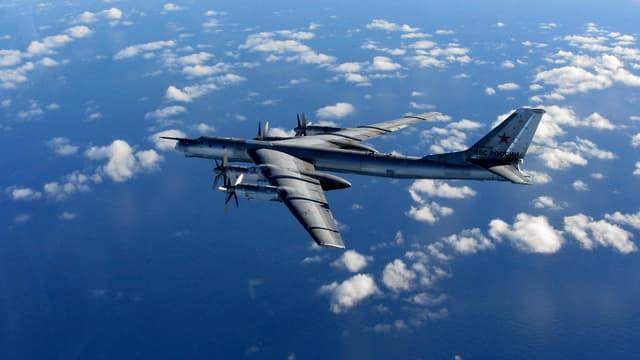 Ein russisches Militärflugzeug.