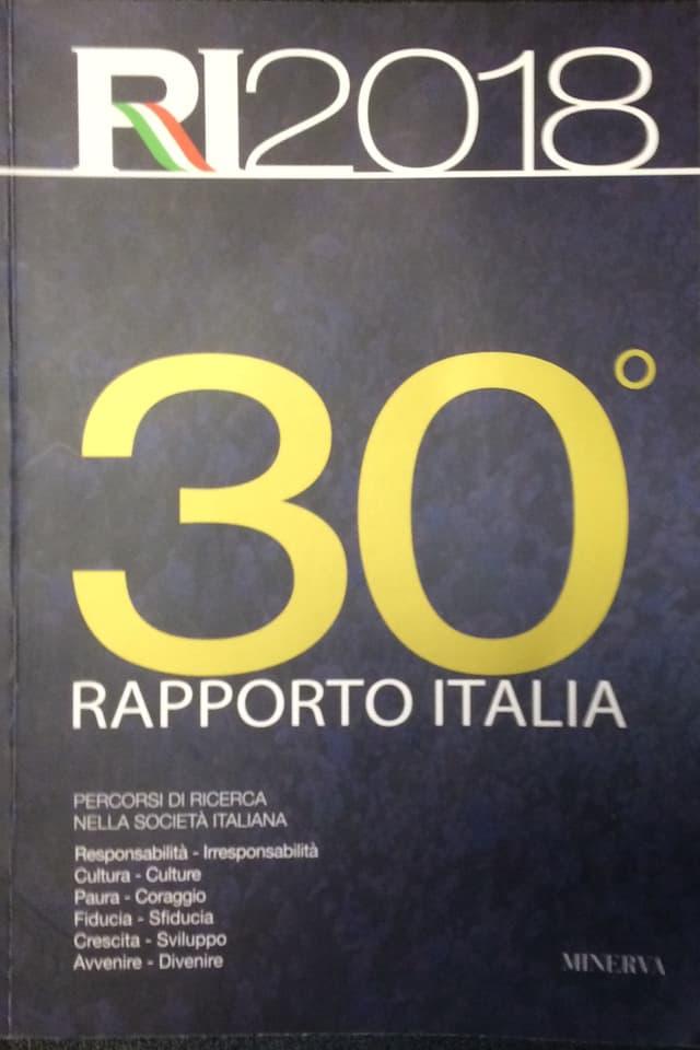 Erscheint seit 30 Jahren alljährlich und spiegelt das Befinden der Italiener und ihrem Land: der «Rapporto Italia»