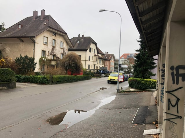 Quartier, Strasse