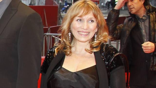 Karanovic auf dem roten Teppich an der Berlinale 2010.