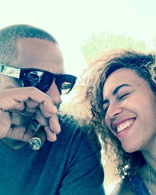 Beyonce mit Jay-Z