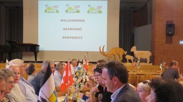 La radunanza dals delegads da la PPS a Claustra.