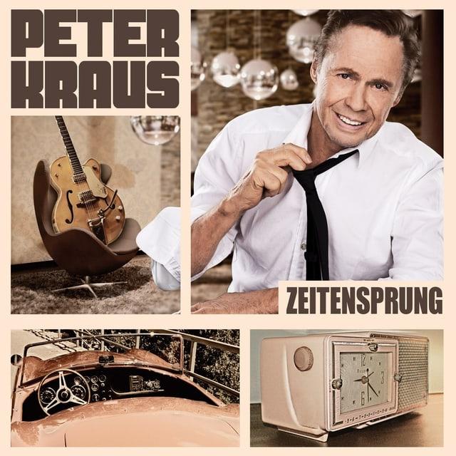Peter Kraus und ein paar nostalgische Aufnahmen von einer Gitarre, einem Wecker und einem Auto.