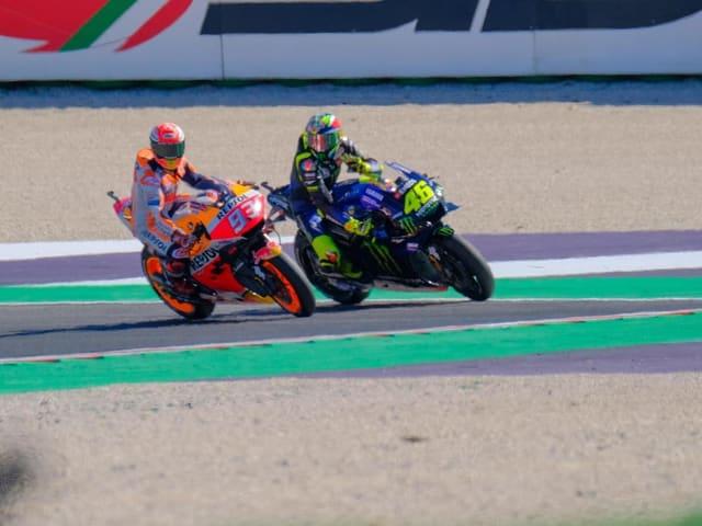Aufregung im MotoGP - Rossi bringt Marquez um die Pole