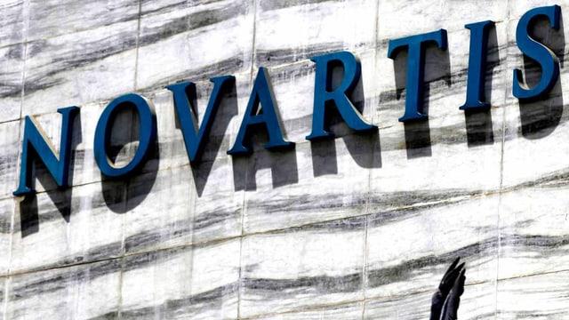 Das Logo der Novartis
