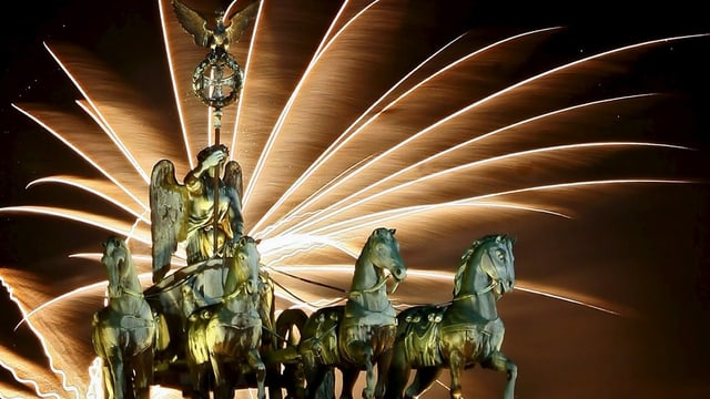 purtret dal fieu artifizial a Berlin.