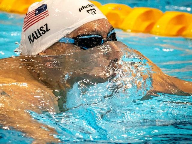 Der Amerikaner Chase Kalisz.
