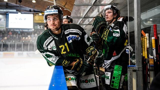 Eishockeyspieler von Hockey Thurgau