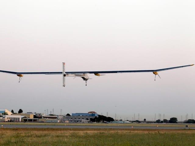 Start der Solar Impulse am 3. Mai 2013