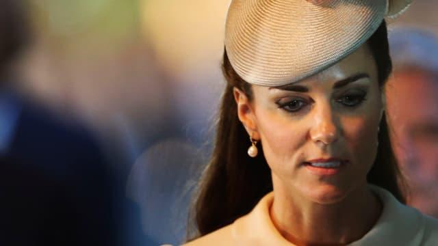 Herzogin Kate.