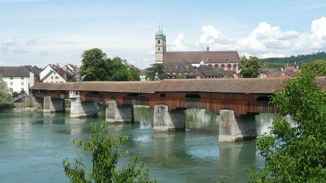 Die Rheinbrücke von Stein Säckingen