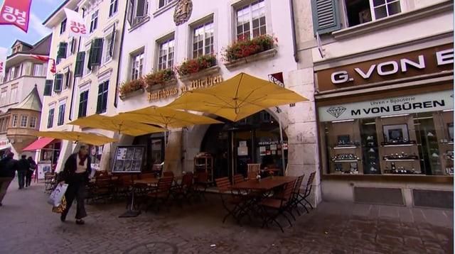Video «Kanton Solothurn – Tag 2 – Zunfthaus zu Wirthen, Solothurn» abspielen