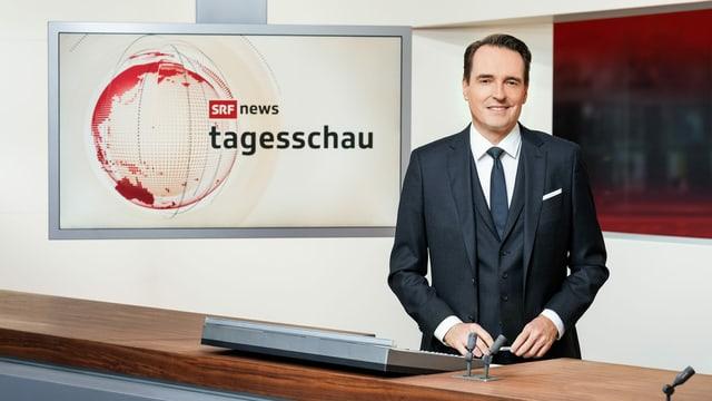 Florian Inhauser, Moderator «Tagesschau»
