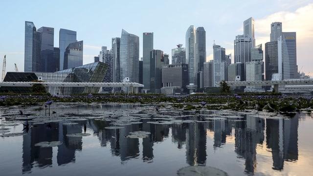 skyline da Singapur.