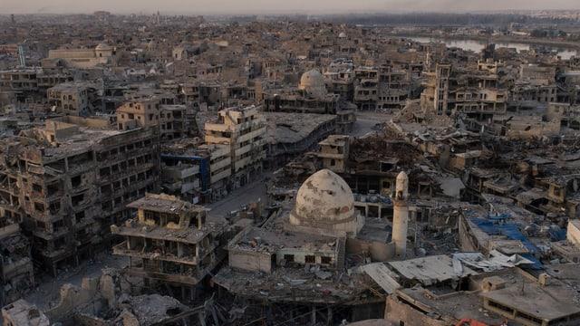 Zerstörtes Mosul