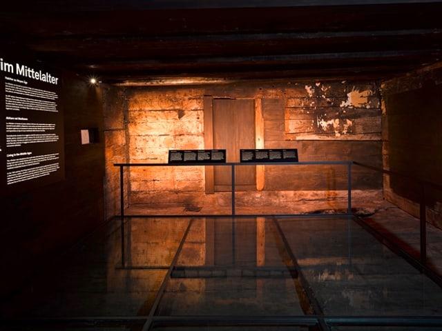 Blick in die Ausstellung im Forum Schweizer Geschichte
