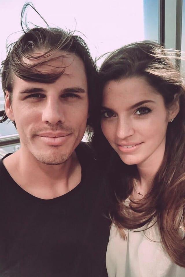 Yann Sommer mit seiner Freundin Alina