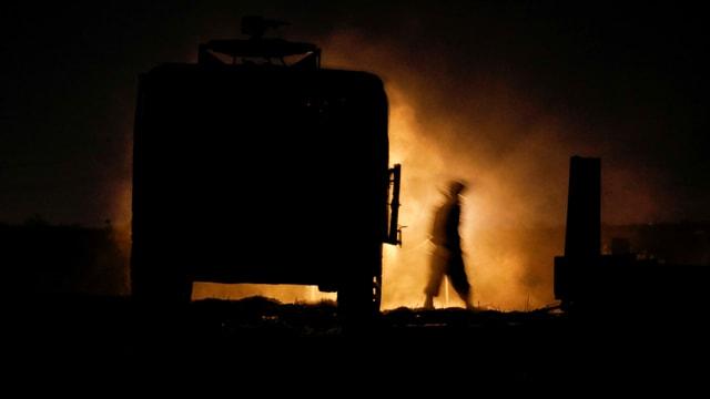 Feuer bei lastwagen