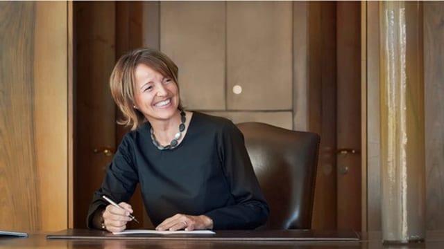 Gronda onur per Meike Bambach, la directura da l'hotel da 5 stailas Paradies a Ftan.