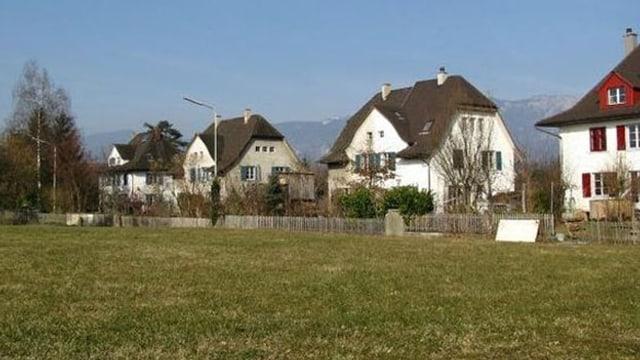 Einfamilienhäuser im Elsässli-Quartier in Derendingen