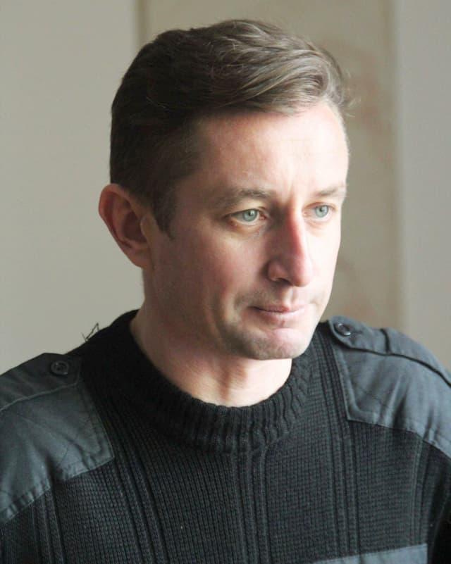 Porträt Serhij Zhadan.