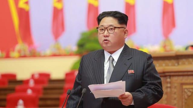 Il dictatur da la Corea dal Nord Kim Jong Un