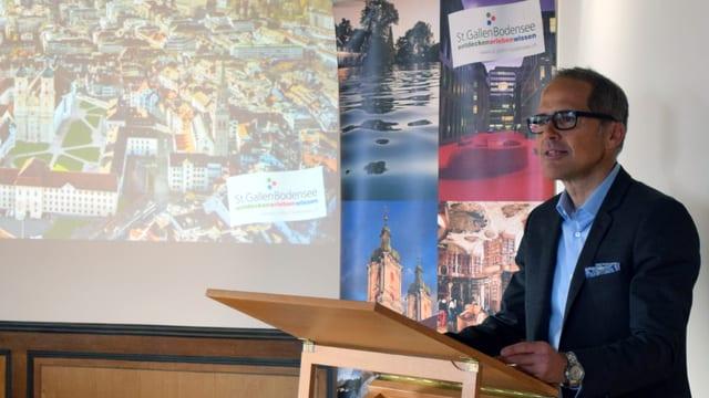 Tourismusdirektor Thomas Kirchhofer