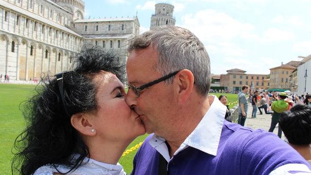 Manuela und Roger, Pisa 2014