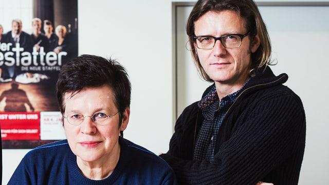 Claudia Pütz und Dominik Bernet