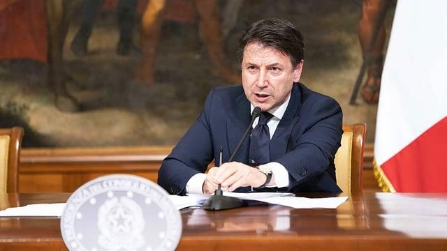 Italiens Premier Giuseppe Conte in der Coronavirus-Krise.