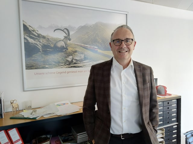 Martin Vincenz, il CEO da Grischun vacanzas.
