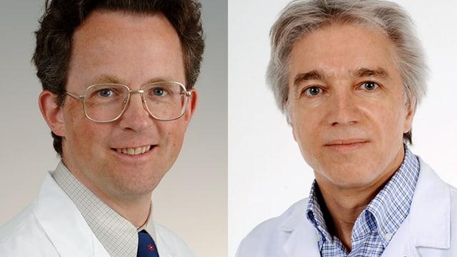 Dr. Adrian Forster und Dr. Daniel Herren