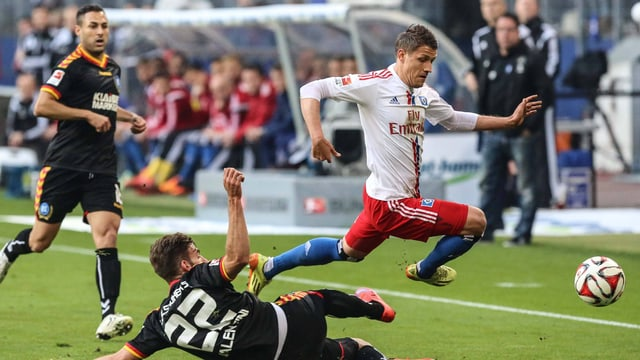 Der HSV mit Ivo Ilicevic war gegen den KSC nicht die bessere Mannschaft.
