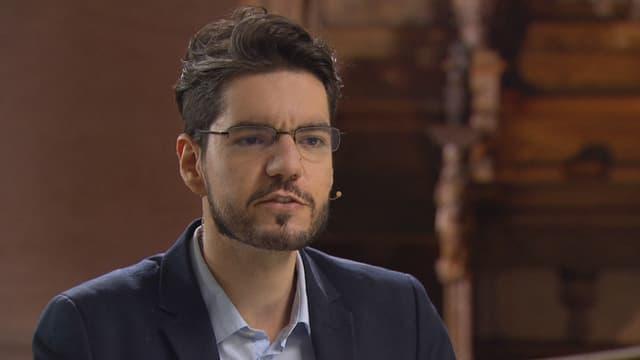Video «Carlos Fraenkel: Kann Philosophie Frieden stiften?» abspielen