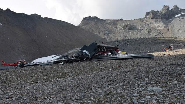 Spiralförmig soll die Ju-52 zu Boden gegangen sein, stellt ein Vorbericht fest.