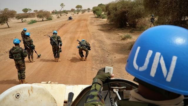 Peacekeeper in Mali