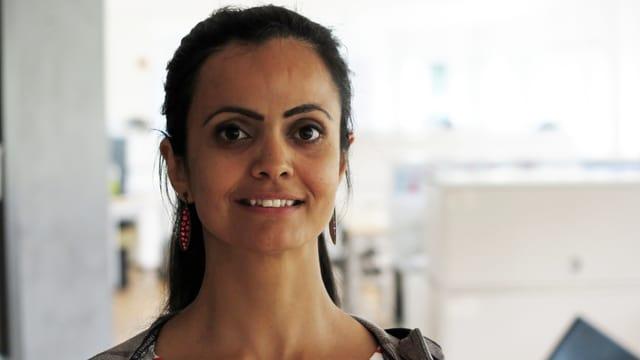 Porträt der ehemaligen Luzerner Assistenz-Professorin Rana Alsoufi.