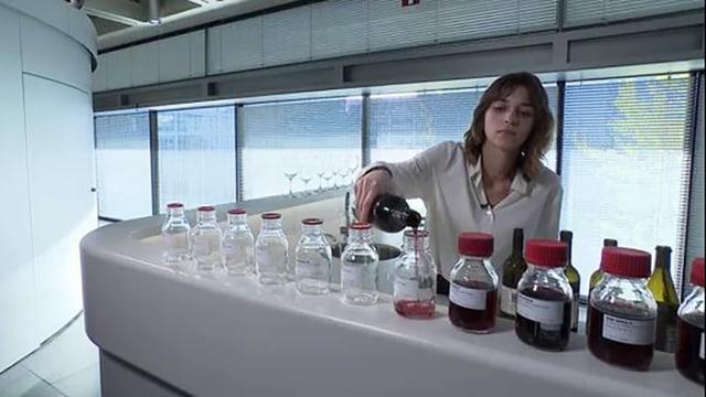 Wein im Labor