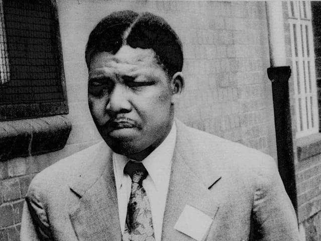 Der 42-jährige Neldon Mandela 1962
