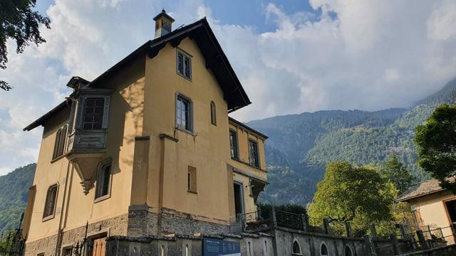 La Villa da vacanzas da la barunessa Castelmur