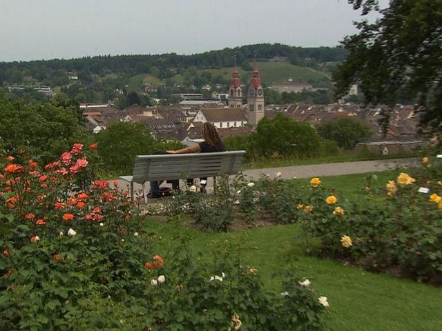 Der Rosengarten in Winterthur gehört ebenfalls zu den historischen Gärten der Schweiz.