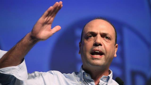 Il minister da l'interiur, Angelino Alfano.