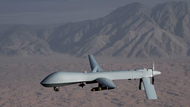 Eine US-Drohne von Typ Predator im Einsatz.